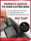 IPRIMIO Cat Litter Scooper with Deep Shovel - Non