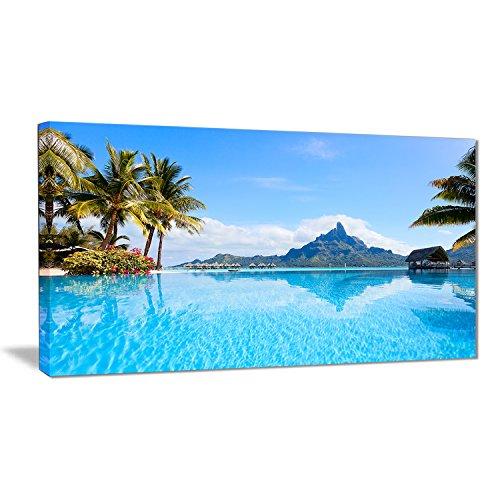 Bora Bora Landscape Photography On Canvas Art Wall Photgraphy Artwork Print