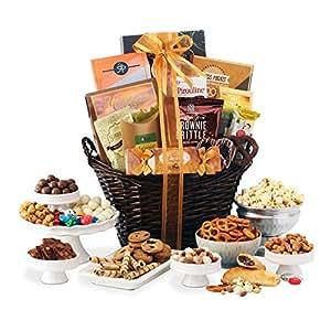 amazon com broadway basketeers gourmet gift basket gourmet