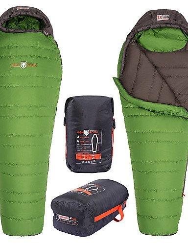Hochstein 0 ~ -5c Frühling / Herbst / Winter für Erwachsene im Freien kampierende wandernde Mama Ente Daunenschlafsack Größe , green-l , green-l