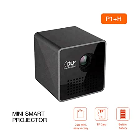 SEXTT Proyector móvil, HD Pocket Proyector de películas caseras ...