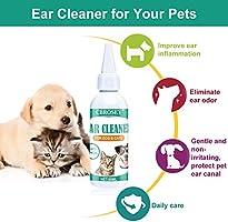Limpiador de Oidos para Perros,Limpiador Oidos para Perros y Gatos ...