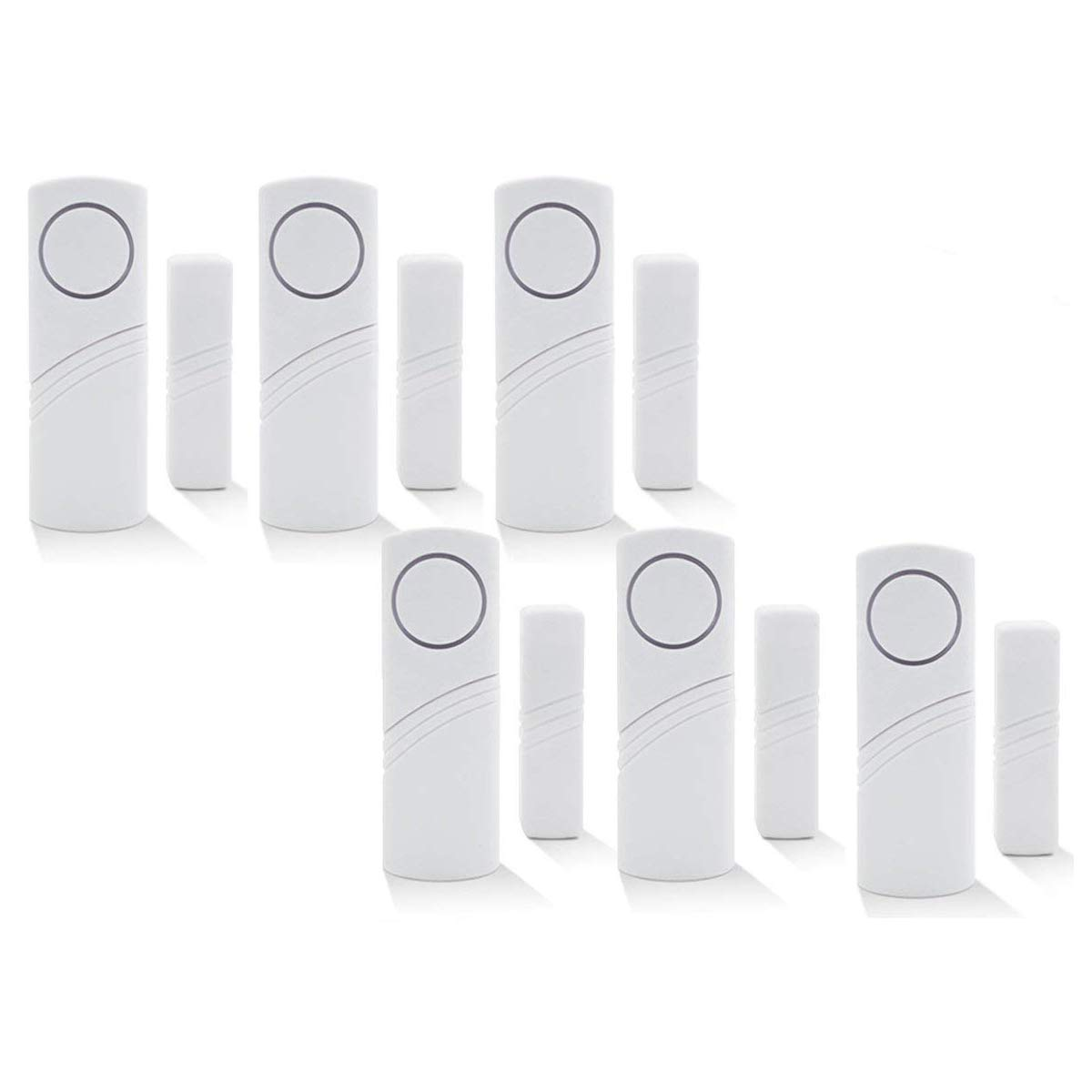 Caravans Sheds Guardian Protector Window Glass Vibration Security Burglar Alarm For Homes Magnetic Sensor Wireless Home Security Alarm System Diy Kit Price Xes Cars Set Of 6 Motorhomes Door Window Sensors