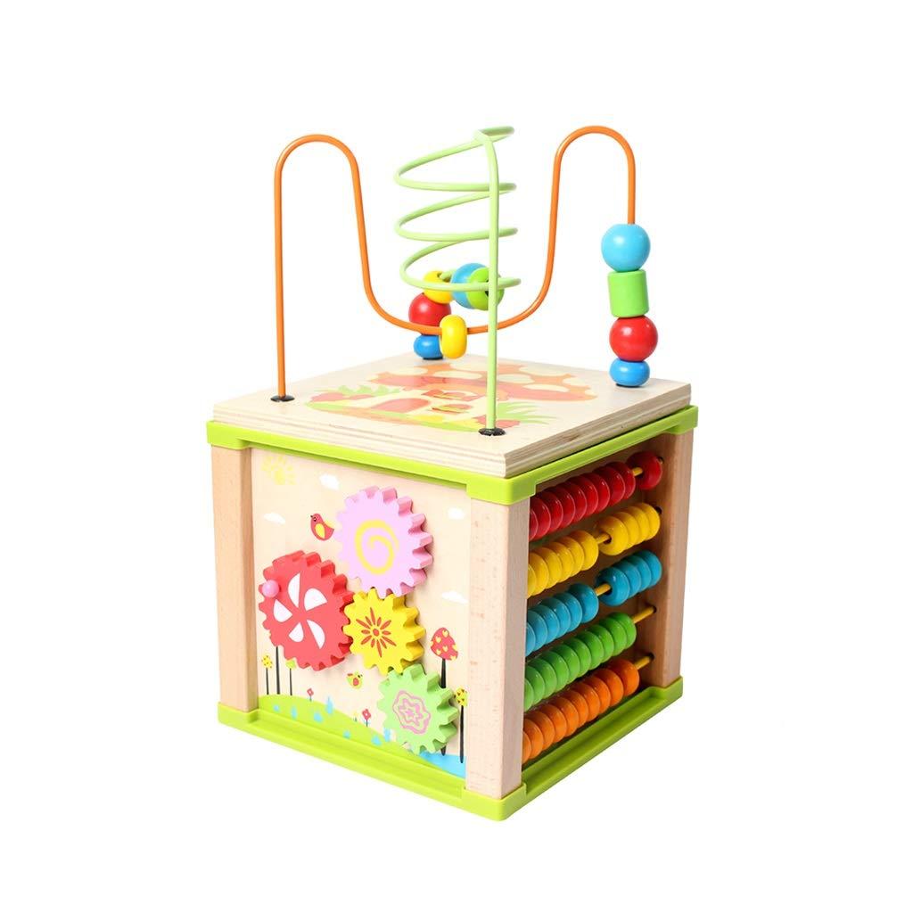 LIUFS Multifunktionale Toy Box Perlen Kinder Lernspielzeug (Farbe   Bunte, größe   A) B07HP2QXY3 Formen & Farben Preiszugeständnisse   Stabile Qualität