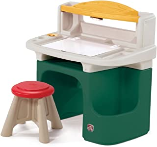 product image for Step2 Art Master Activity Desk for Toddlers - Kids Learning Crafts Table with Chair and Storage - Multicolor