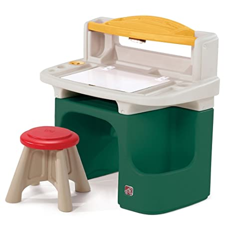 Step2 Art Master Activity Desk For Toddlers   Kids Learning Crafts Table  With Chair And Storage