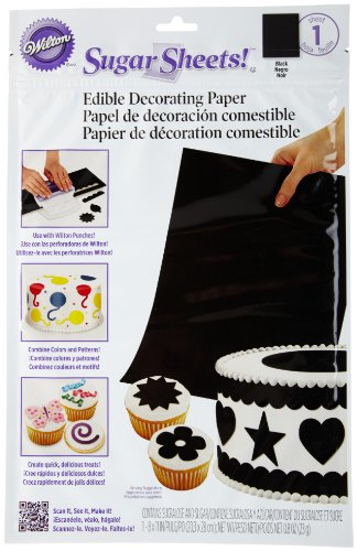 Wilton Sugar Sheet, Black