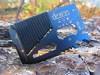Survival Multi Tool - RumbaDock Survival Gear Tools 14-1 Credit Card Multitool- Best SAS Survival Kit Multi-tool- Ideal for Fishing Survival Kit Multitool: Lifetime Warranty