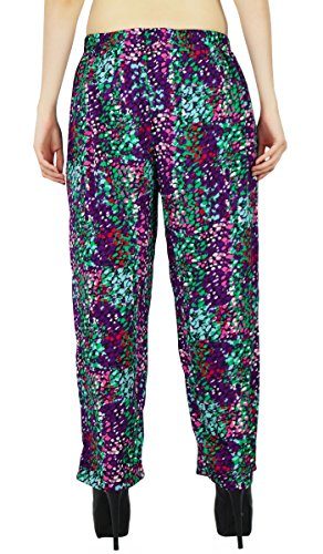 Harem Yoga Aladdin Pantalones Casual Hippie Harem Holgado Mujeres De Poliéster Pantalones Multicolor