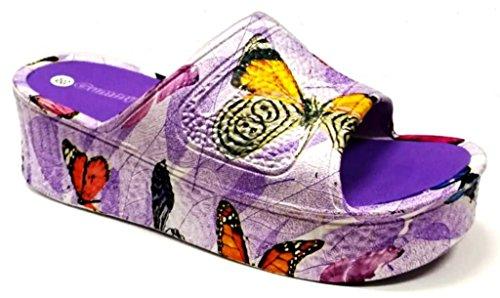 DEMA Lilas 36 pour Femme Chaussons Violet qfPPx78B0w