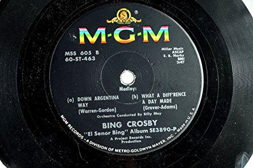 (Bing Crosby -Scarce Compact 33 Juke Box 7