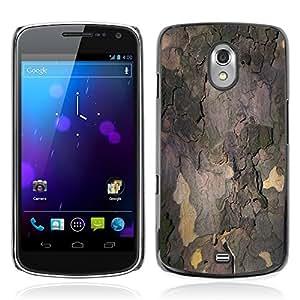 Etui Housse Coque de Protection Cover Rigide pour // M00150890 Corteza de árbol Corteza Tribu // Samsung Galaxy Nexus GT-i9250 i9250