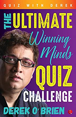Derek o brien quiz books