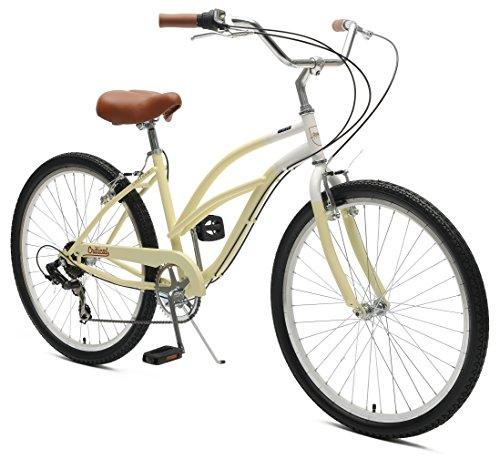Critical Cycles Chatham-7 Women's  Beach Cruiser Bike Seven-Speed, (Nirve 3 Speed Cruiser)
