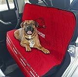 Arkansas Razorbacks Premium Pet Dog Waterproof Car Seat Cover
