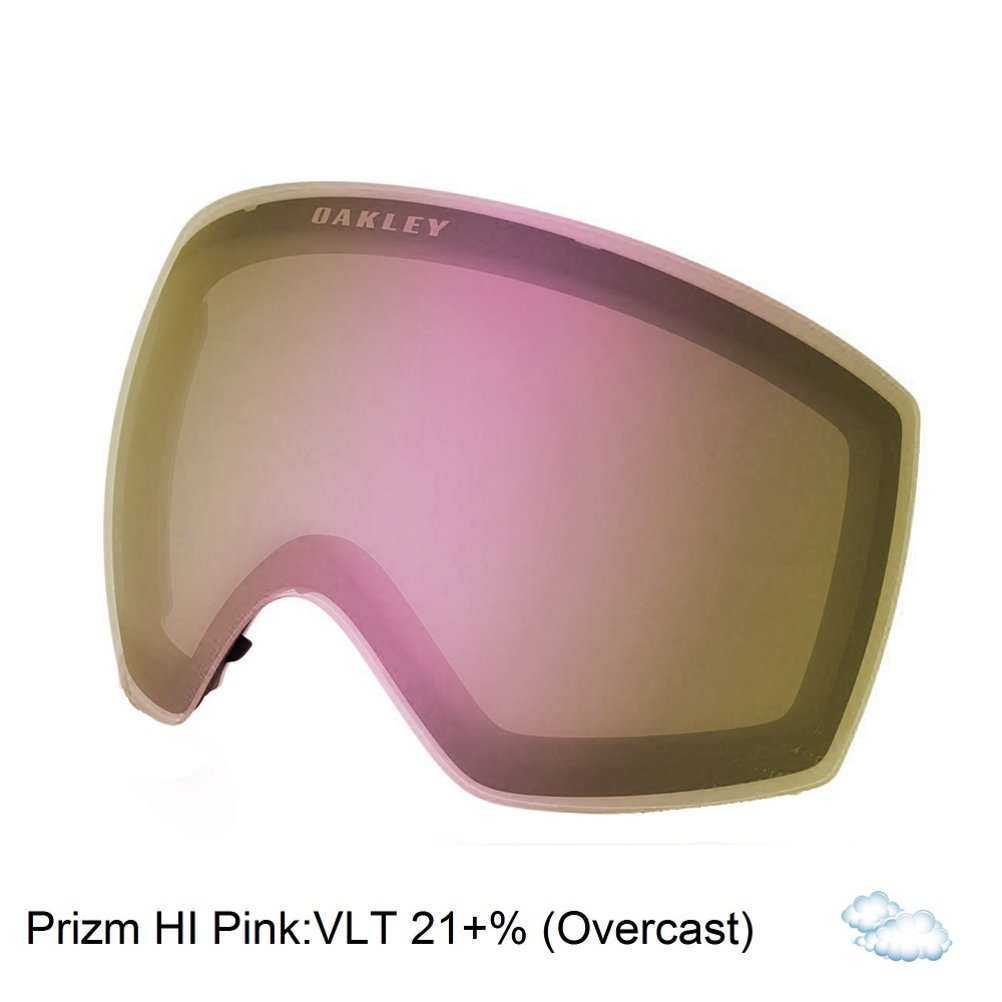 28812f15487 Amazon.com  Oakley Flight Deck Adult Replacement Lens Snow Goggles  Accessories - Dark Grey One Size  Sports   Outdoors
