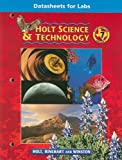 Holt Science and Technology, Holt, Rinehart and Winston Staff, 0030644992