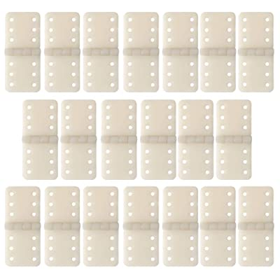 Aoaoingy 20pcs Hinge Linker Plastic Small for RC Airplane Aircraft Helicopter Quadcopter: Toys & Games