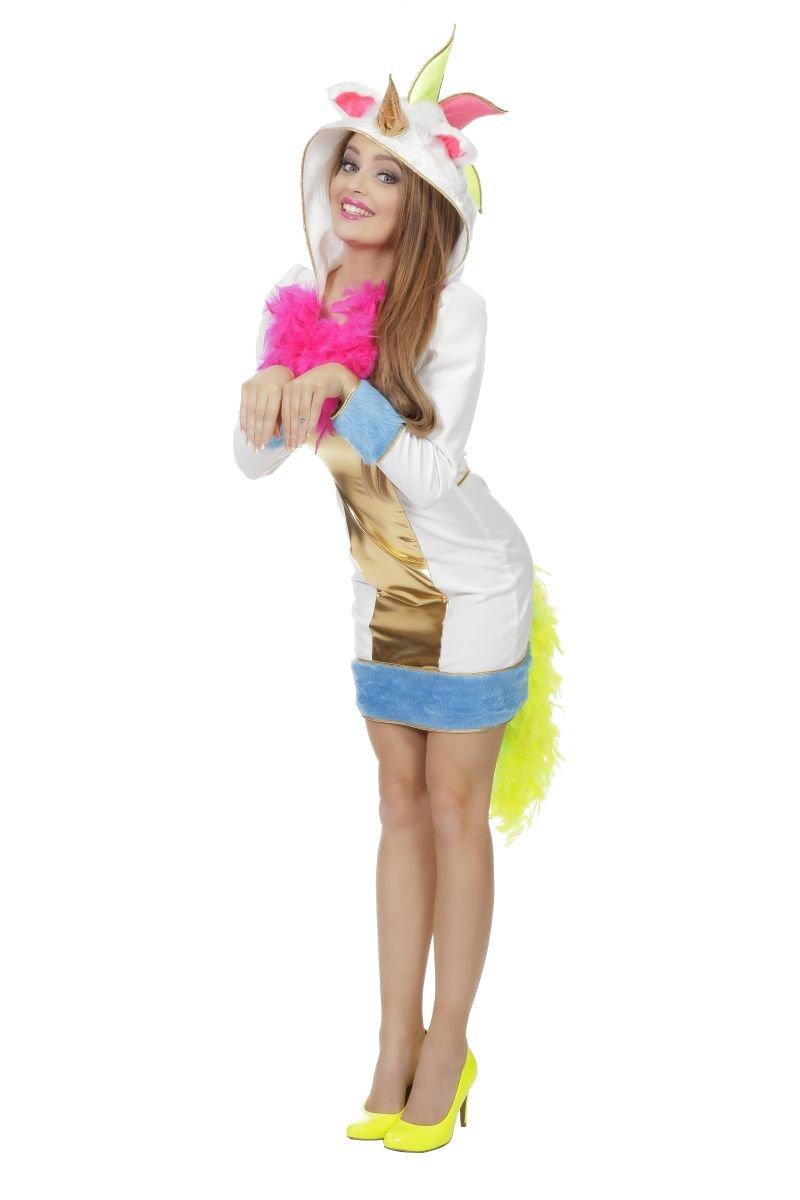 Damen Kostüm magisches Regenbogen Einhorn Karneval Gr.38 B0767F194K Kostüme für Erwachsene Zuverlässiger Ruf    | Hohe Qualität