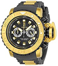 Invicta Men's JT Stainless Steel Quartz Watch with Silicone Strap, Charcoal, 30 (Model: 23720)