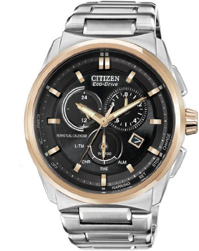 Citizen Men's BL5486-57E Eco-Drive Perpetual Calendar Chronograph Watch