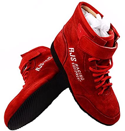 9e4ed9a4ed3ed Amazon.com: Racerdirect RJS Racing SFI 3.3/5 Racing Shoes Solid RED ...