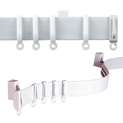 C2B 196quot 500cm Plastic Curtain Track