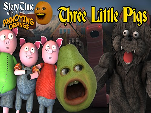 The Three Little Pigs - Pears Three Big