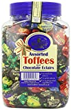WALKERS NONSUCH Assorted Toffees and Chocolate Eclairs, 1.25Kg