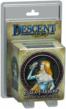 Descent Second Edition: Eliza Farrow Lieutenant Miniature: Amazon.es: Juguetes y juegos