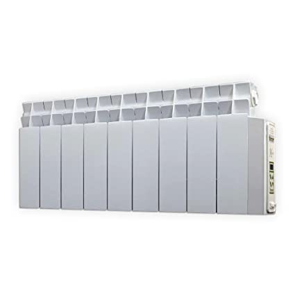 farho LPD - Radiador Eléctrico de bajo Consumo 675 W, Digital Programable y con opción