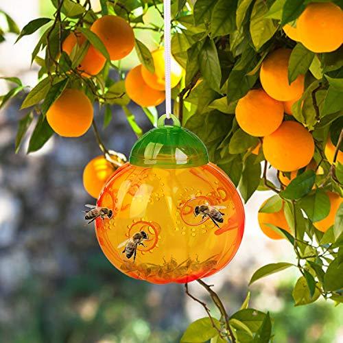 Aspectek Wasp Trap - Wasp Trap Catcher,Bee Trap,Outdoor Wasp Deeterrent Killer Insect Catcher Honey Bee Trap