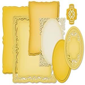 Spellbinders S5-161 - Producto para repujado, color dorado