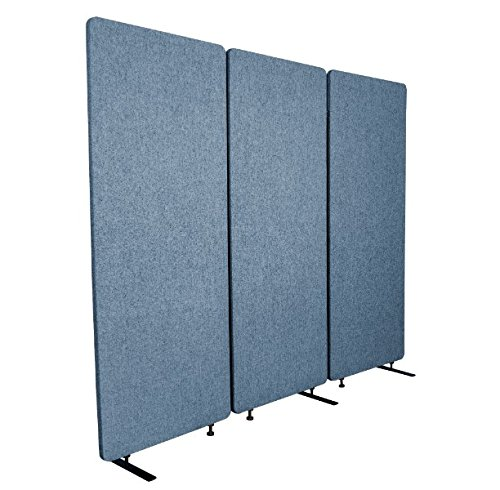 (ReFocus Acoustic Room Dividers   Office Partitions - Reduce Noise and Visual Distractions with These Easy to Install Wall Dividers (72