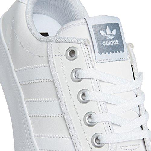 Adidas Kiel Hombre Zapatillas Blanco Blanco / Gris