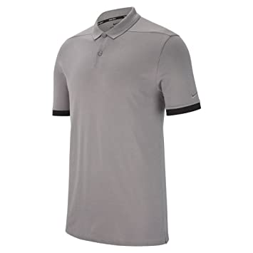 5f4c4160 Nike M NK Dry Polo PQ Classic Polo, Shirt, Multicoloured (Gunsmoke Gunsmoke/