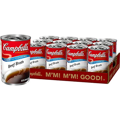 Campbell'sCondensed Beef Broth, 10.5 oz. Can (Pack of 12)