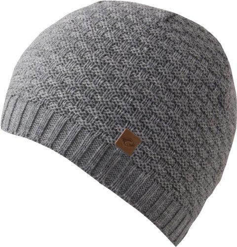 gris Kasimir claro forro Gorro Feinzwirn gris lana hombre con tejido para de BzAzag