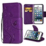 Best Case  I 5s - iPhone 5 Case,i-Dawn Premium Wallet Leather Flip Protective Review