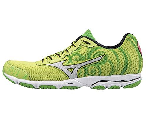 Mizuno - Zapatillas de running de Material Sintético para mujer Verde verde Verde
