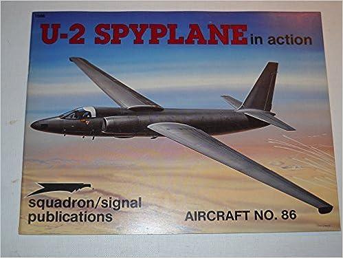 Book U-2 Spyplane in Action - Aircraft No. 86