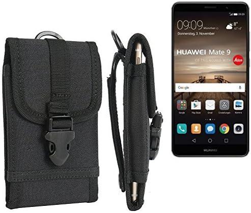 K-S-Trade Bolsa del cinturón/Funda para Huawei Mate 9, Negro ...