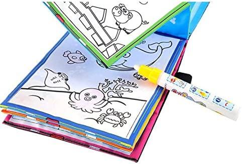 CHENWENEED Juguetes niños,Dibujo de Agua mágica Libro de ...