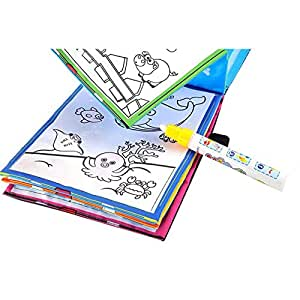 """Yeefant Baby Drawing Toy Magic Water Drawing Book Coloring Book Doodle Magic Pen Animals Themed Painting Set, 8.3"""" x 6.5"""" x 1"""""""