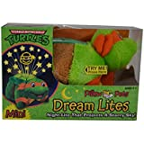 Pillow Pets Mini Dream Lites Teenage Mutant Ninja Turtles Night Light - Michelangelo