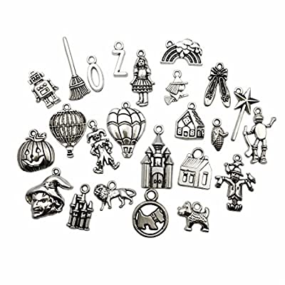 Craft Supplies Mixed Pendants Beads Charms Pendants for Crafting, Jewelry Findings Making Accessory for DIY Necklace Bracelet