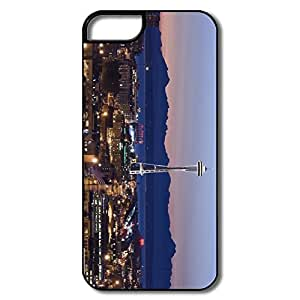 Custom Your Own Love Non-Slip Seattle Tower Washington IPhone 5/5s Case For Birthday Gift