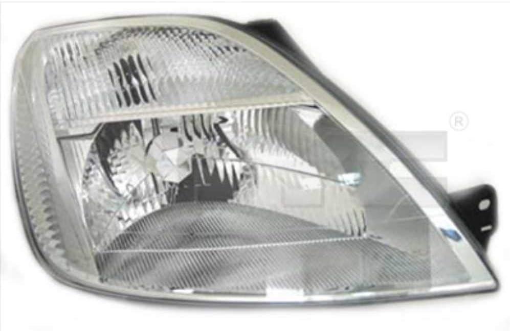Osram Lampen mit Stellmotor LWR Lampentr/äger Scheinwerfer Set rechts /& links H4 f/ür Fiesta V JH/_ JD/_ inkl