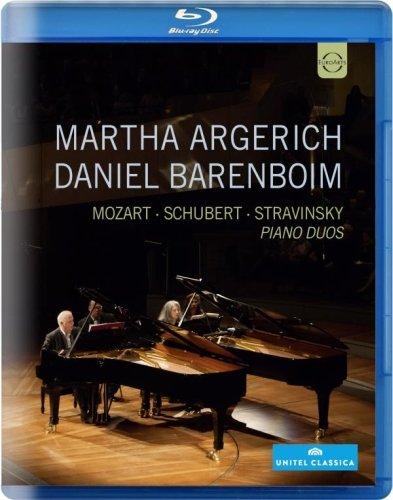 - Martha Argerich and Daniel Barenboim, Piano Duos [Blu-ray]