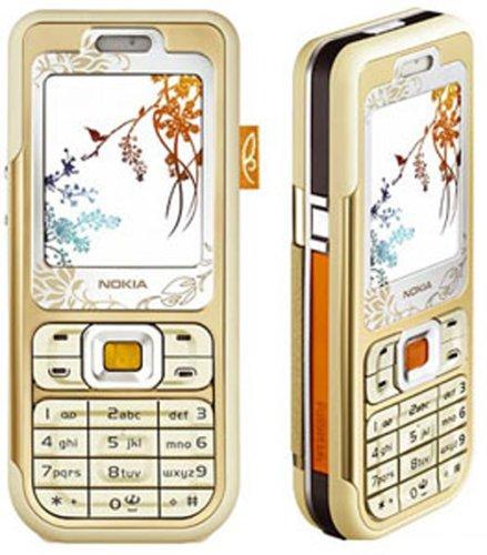- Nokia 7360 Unlocked Triband Camera Phone (Gold)